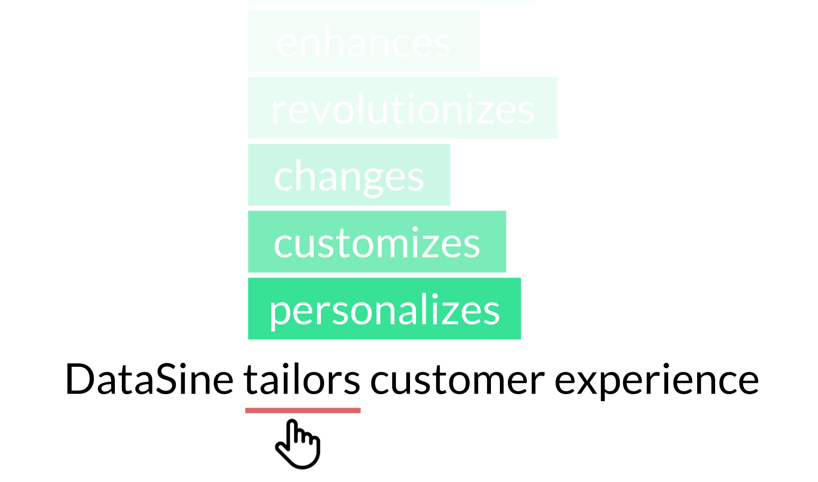 DataSine tailors customer experience